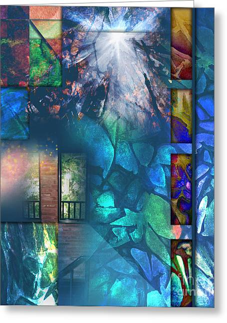 Tapestry Path Greeting Card