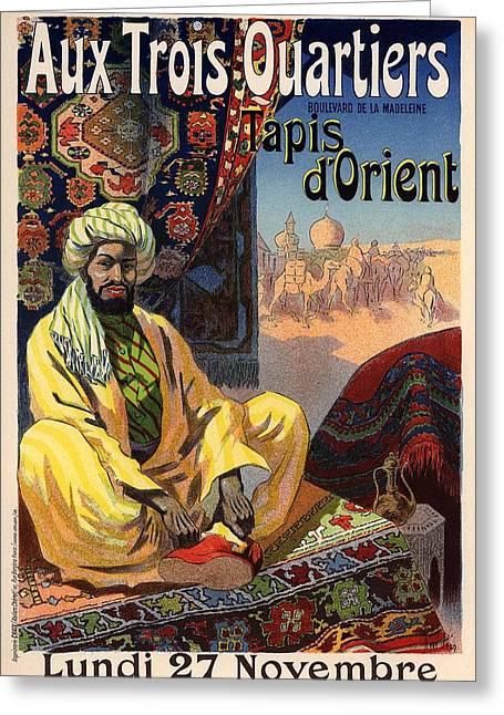 Tapis D'orient Greeting Card