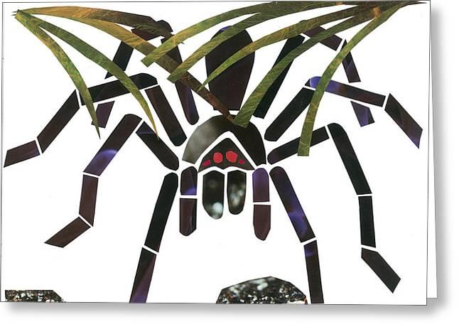 Tarantula Greeting Card by Earl ContehMorgan