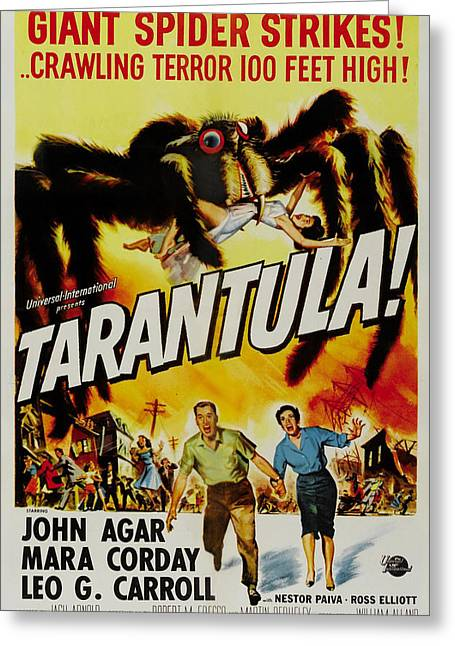 Tarantula Greeting Card