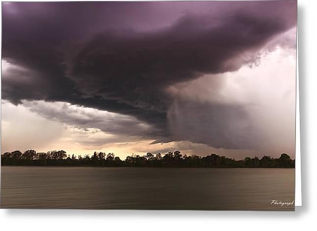 Taree Storm 0001 Greeting Card