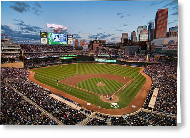 Target Field Greeting Card