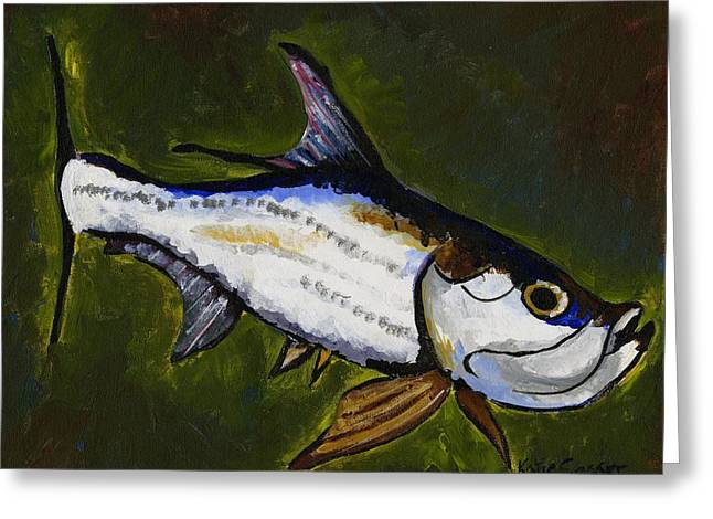 Tarpon Fish Greeting Card
