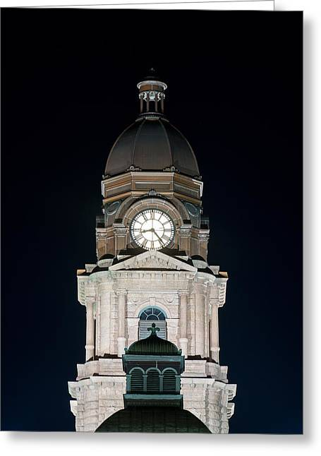 Tarrant County Courthouse V2 020815 Greeting Card