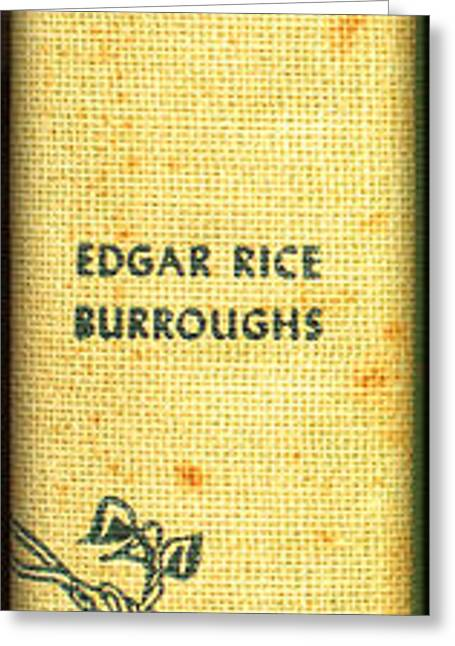 Tarzan Lord Of The Jungle By Edgar Rice Burroughs Greeting Card by Edward Fielding