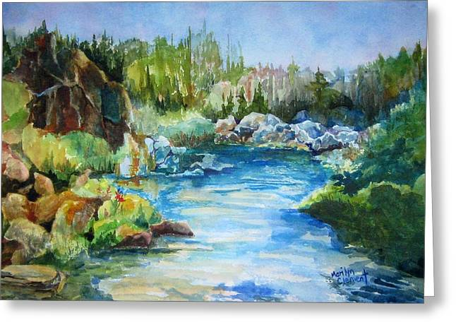 Tasmania River Greeting Card