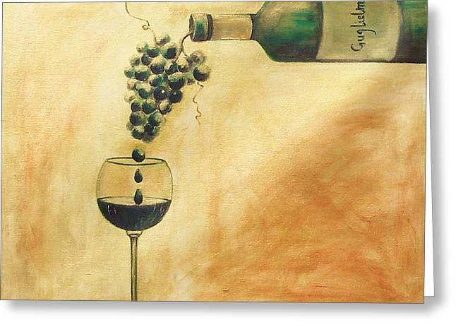 Taste Of Life Greeting Card by Sheri  Chakamian