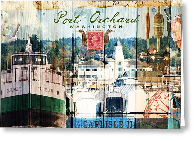 Taste Of Port Orchard Greeting Card