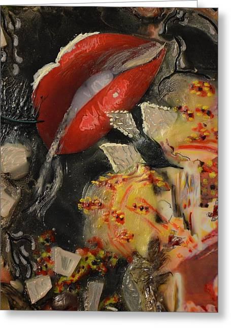 Taste The Light Greeting Card by Deprise Brescia