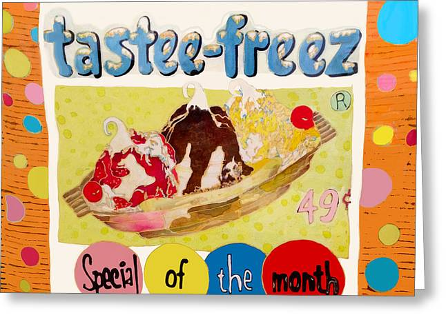 Tastee Freez Greeting Card