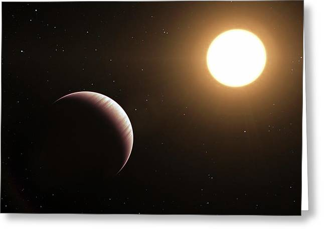 Tau Bootis B Exoplanet Greeting Card by L. Calcada/european Southern Observatory