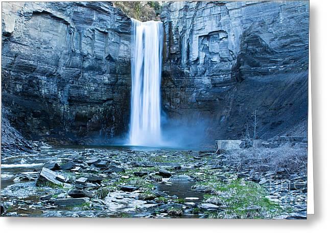 Taughannock Falls In Spring Greeting Card