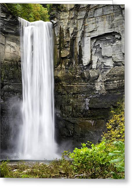 Taughannock Falls View From The Bottom Greeting Card