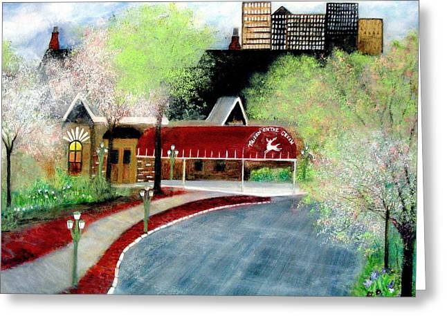 Tavern On The Green   Greeting Card
