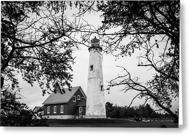 Tawas Point Lighthouse Greeting Card