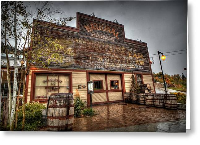 High West Distillery Greeting Card