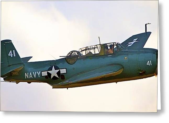 Tbf Avenger  Adventure Greeting Card