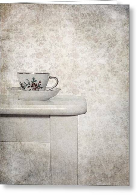Tea Cup Greeting Card by Joana Kruse