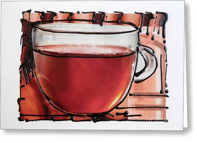 Tea For Me Greeting Card