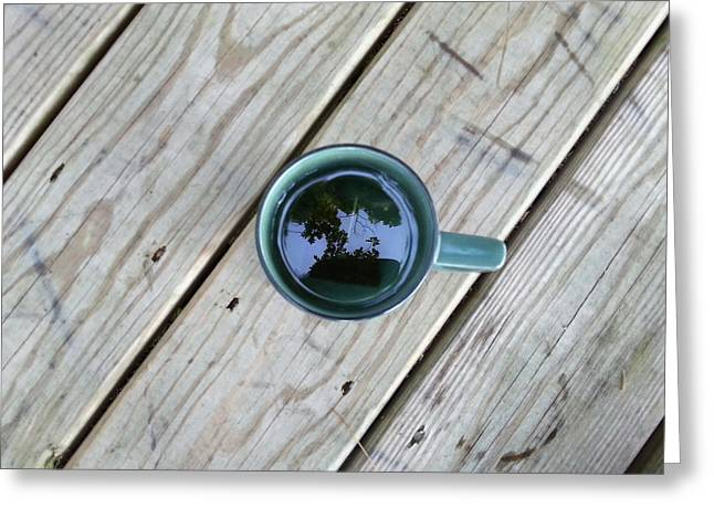 Tea Leaves Greeting Card