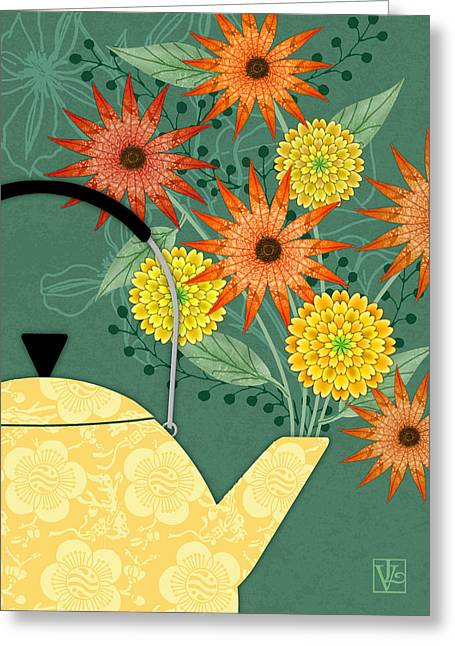 Tea Pot Glory Greeting Card