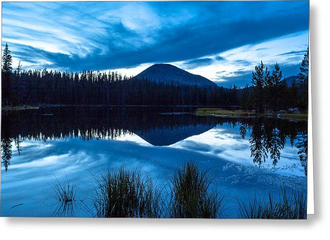 Teapot Lake Greeting Card by Darryl Wilkinson