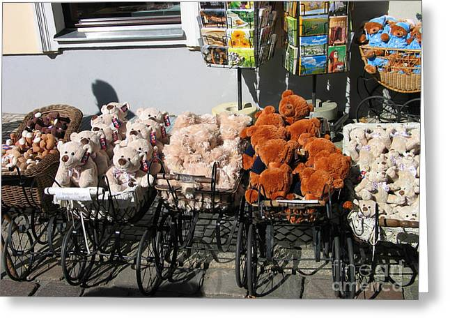 Greeting Card featuring the photograph Teddy by Art Photography