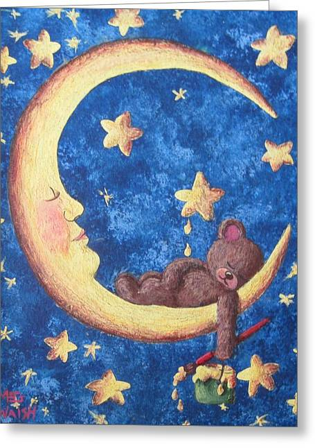 Teddy Bear Dreams Greeting Card