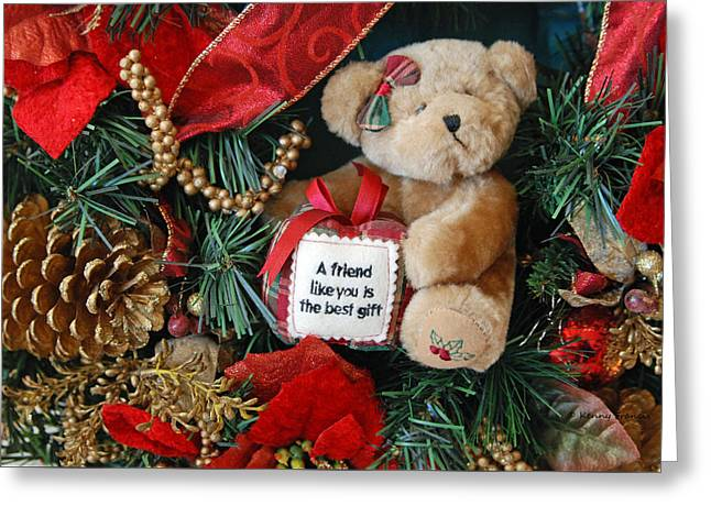 Teddy Bear Friends Greeting Card