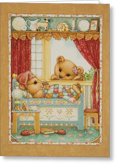 Teddy Bear Friends Greeting Card