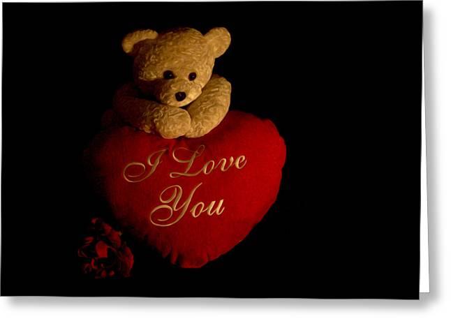 Teddy Bear Love 2 Greeting Card by Regina  Williams