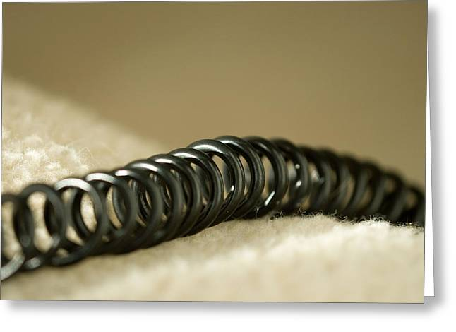 Telephone Cord Greeting Card by Celso Diniz
