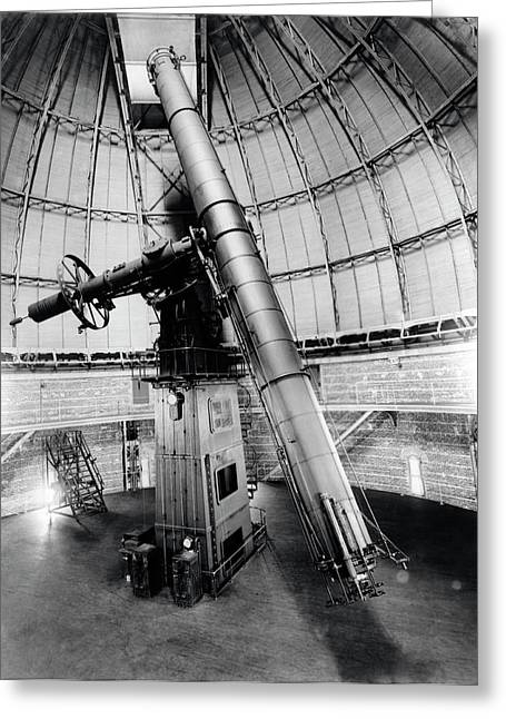 Telescope At Yerkes Observatory Greeting Card