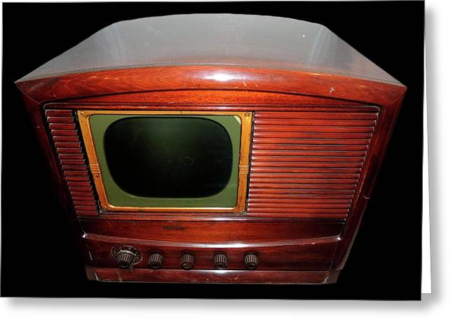 Television Manufactured By Philco Greeting Card by Universal History Archive/uig