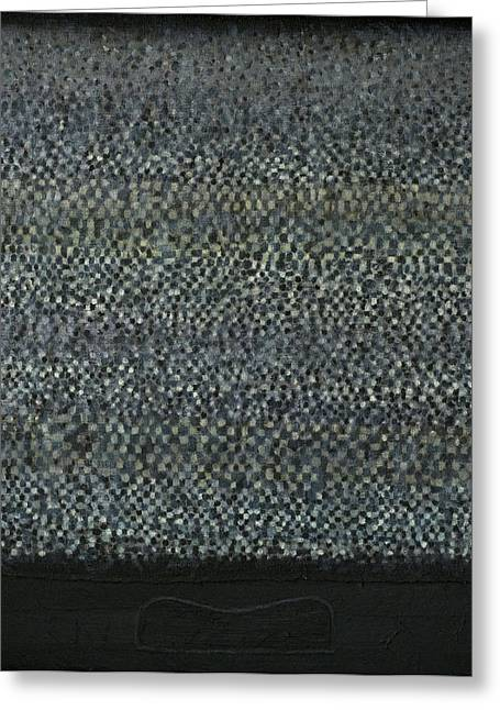 Television-pillow Greeting Card by Oni Kerrtu