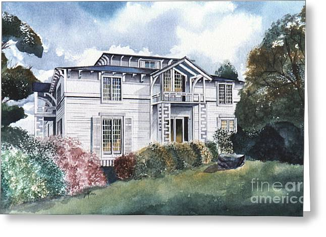 Tellico Johnson Mansion  Greeting Card