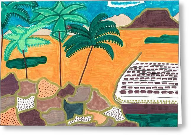 Temecula California Greeting Card by Don Koester