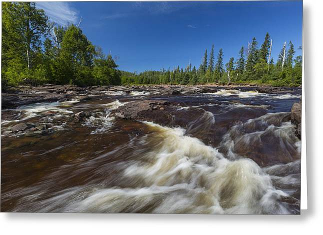 Temperance River 2 Greeting Card by John Brueske