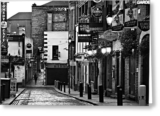 Temple Bar / Dublin Greeting Card