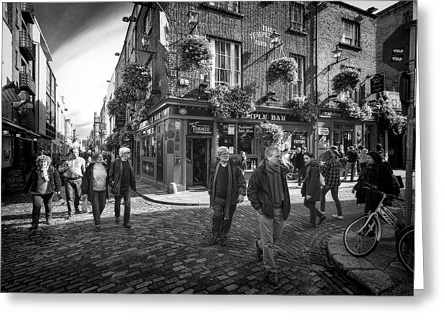 Temple Bar Greeting Card