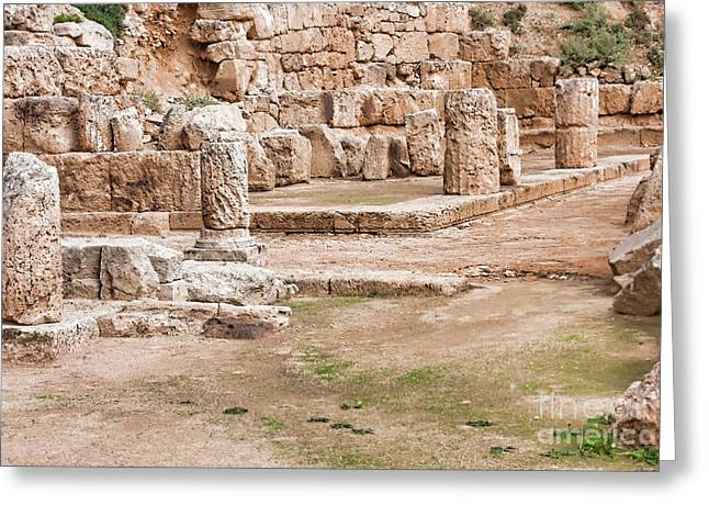 Temple Of Hera Greeting Card by Gabriela Insuratelu
