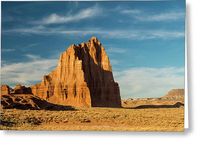 Temple Of The Sun Formation, Cathedral Greeting Card by Panoramic Images