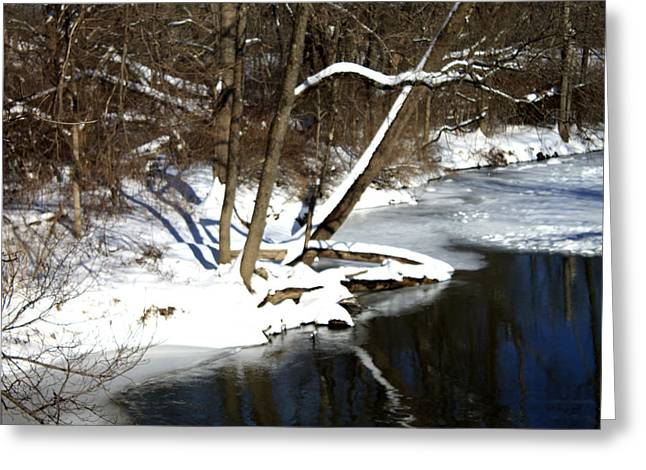 Ten Mile River Ne View Greeting Card by Barbara Giordano