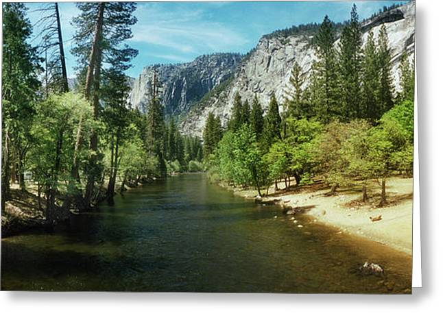 Tenaya Creek In Yosemite National Park Greeting Card