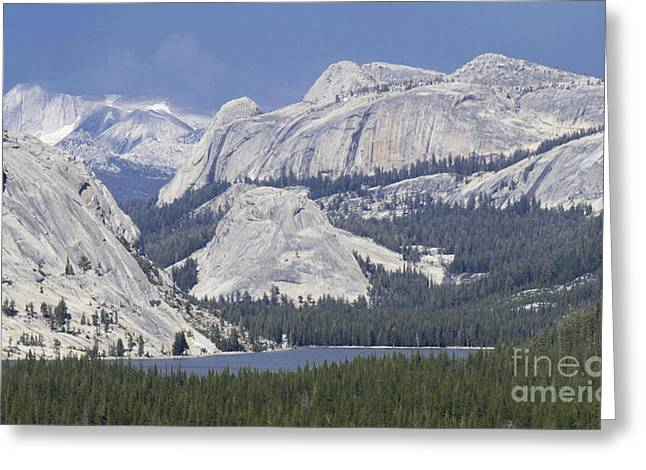 Tenaya Lake Grandeur Greeting Card