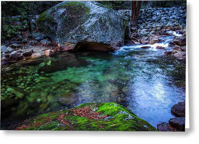 Teneya Creek Yosemite National Park Greeting Card