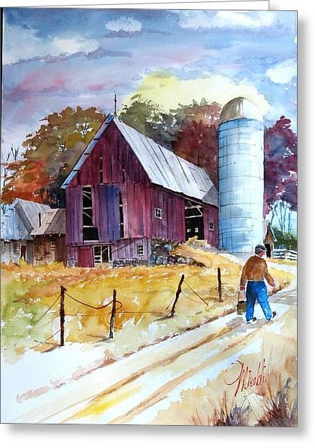 Tennesee Farm Greeting Card
