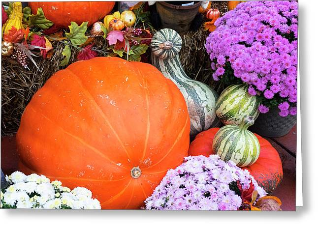Tennessee, Gatlinburg, Halloween Greeting Card by Jamie and Judy Wild