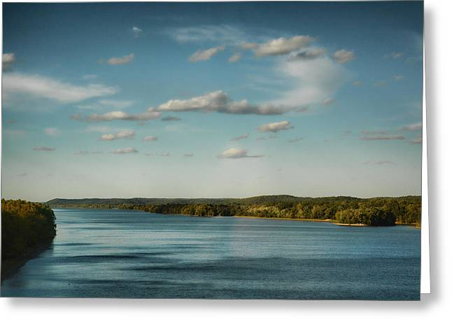 Tennessee River Greeting Card by Jai Johnson