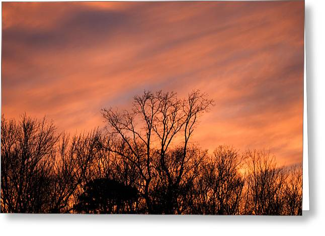 Greeting Card featuring the photograph Tequila Sunset by Bill Swartwout